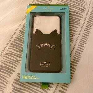 iPhone XS Max Kate Spade Cat Case